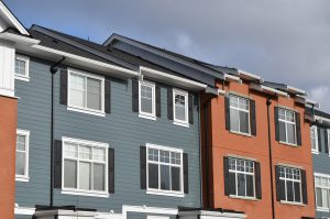 New gutters for condos, townhouses, and strata