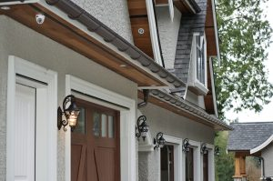 Gutters for custom homes